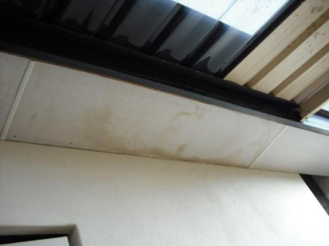 Kingsley Building Inspection - Water Stained Eaves